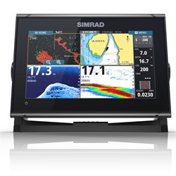 SIMRAD GO9 XSE INKL GIVARE TOTALSCAN