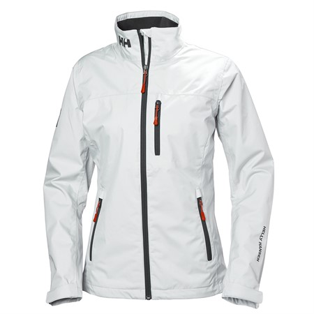 HELLY HANSEN CREW MIDLAYER JACKET WHITE DAM S